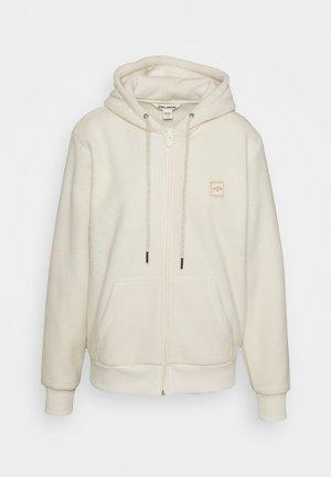 SATURDAY - Fleece jacket - white cap