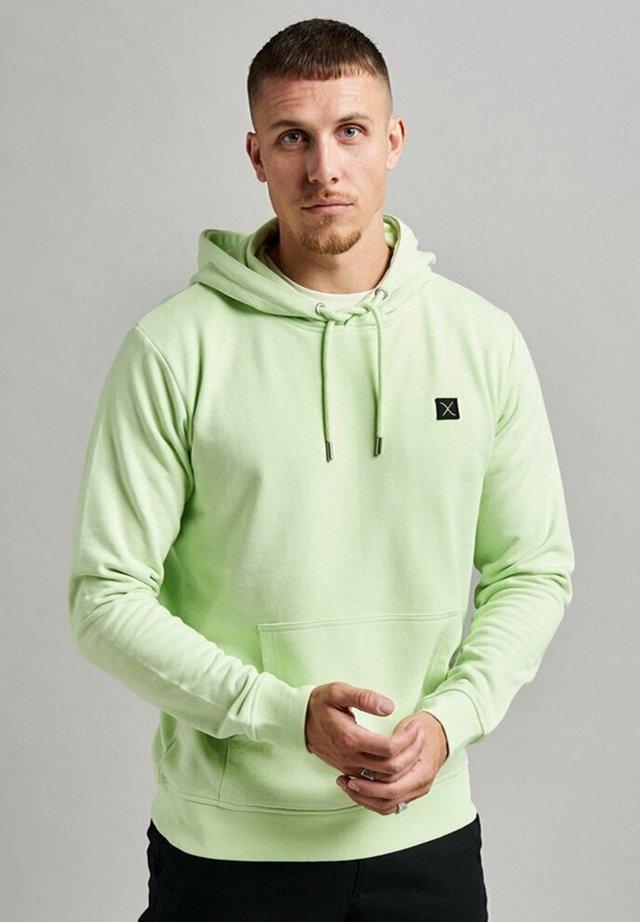 Hoodie - neon grønn
