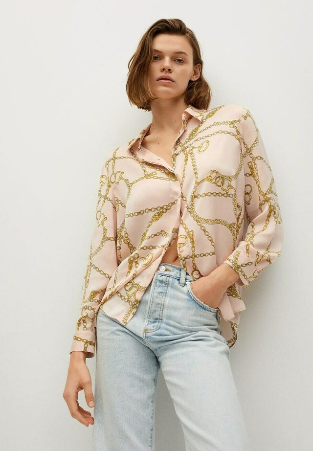 GREECE - Button-down blouse - rose pastel