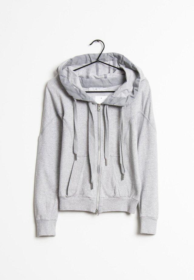 veste en sweat zippée - gray