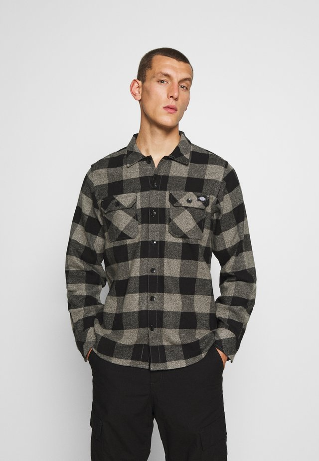 SACRAMENTO - Shirt - grey melange