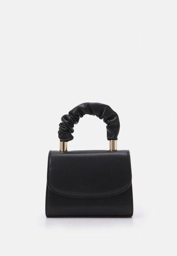 VLADYA - Handbag - jet black/gold-coloured