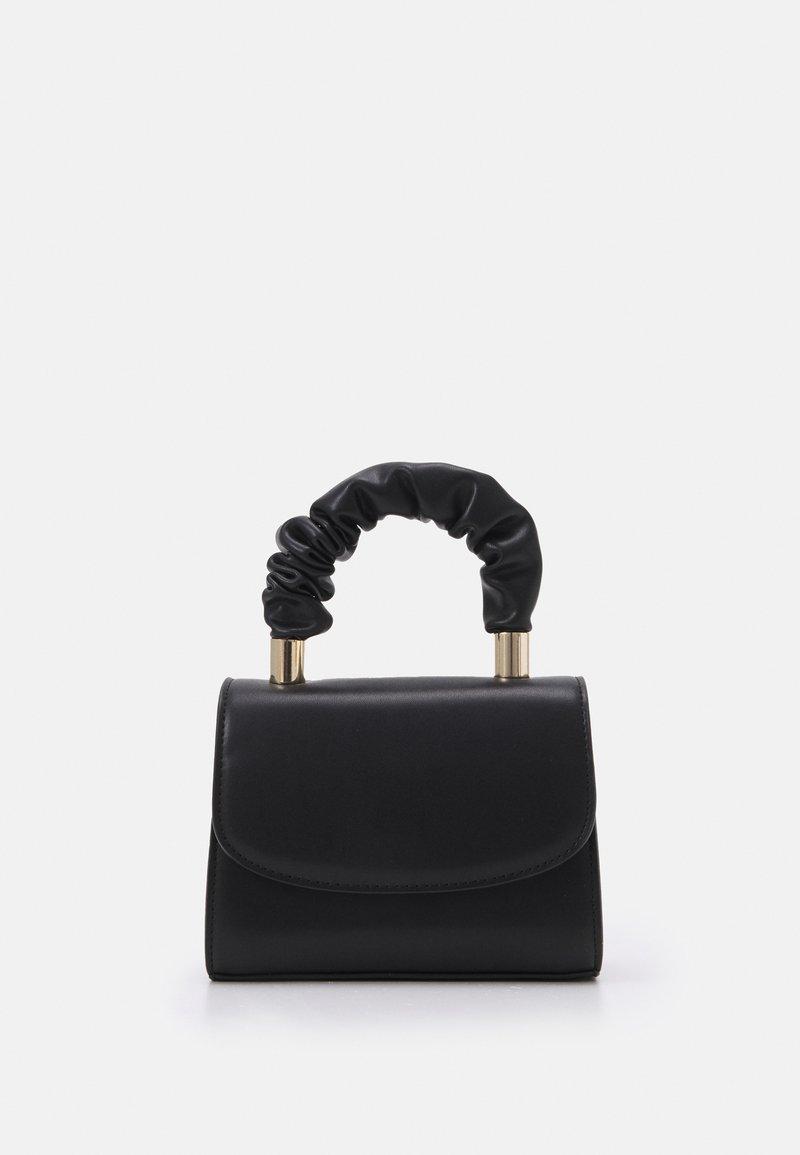 ALDO - VLADYA - Handbag - jet black/gold-coloured