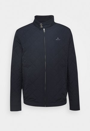 QUILTED WINDCHEATER - Light jacket - evening blue