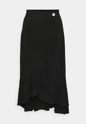 FERNANDA SKIRT - A-line skirt - schwarz