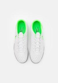 Nike Performance - TIEMPO LEGEND 8 PRO TF - Astro turf trainers - platinum tint/rage green - 3