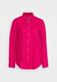Polo Ralph Lauren - PIECE DYE - Button-down blouse - sport pink - 4