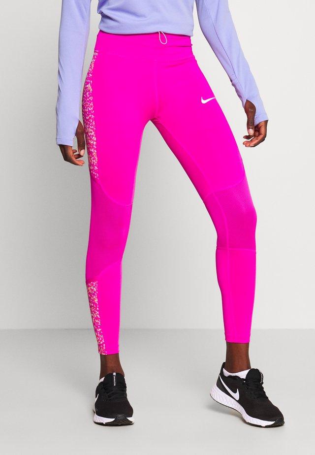 FAST 7/8 - Legging - fire pink/white