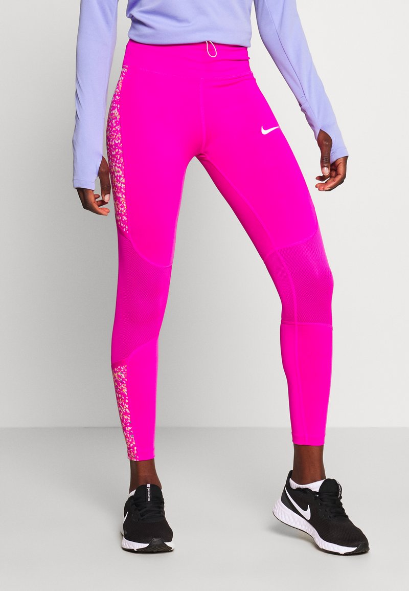 Nike Performance - FAST 7/8 - Leggings - fire pink/white
