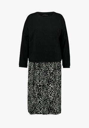 GROSSE GRÖSSEN BELLIEVASTILLFUNKTIO - Maxi dress - schwarz