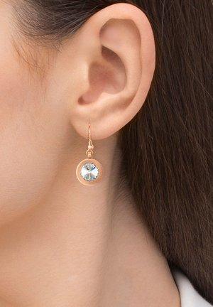 MIT STEIN VON S - Earrings - rosegoldfarben