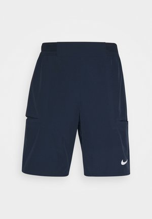 SHORT - Sports shorts - obsidian/white