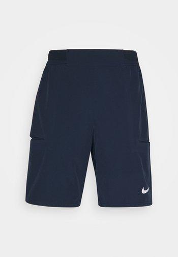 SHORT - Pantalón corto de deporte - obsidian/white