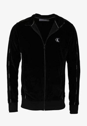 VELOUR TRACK - Light jacket - black