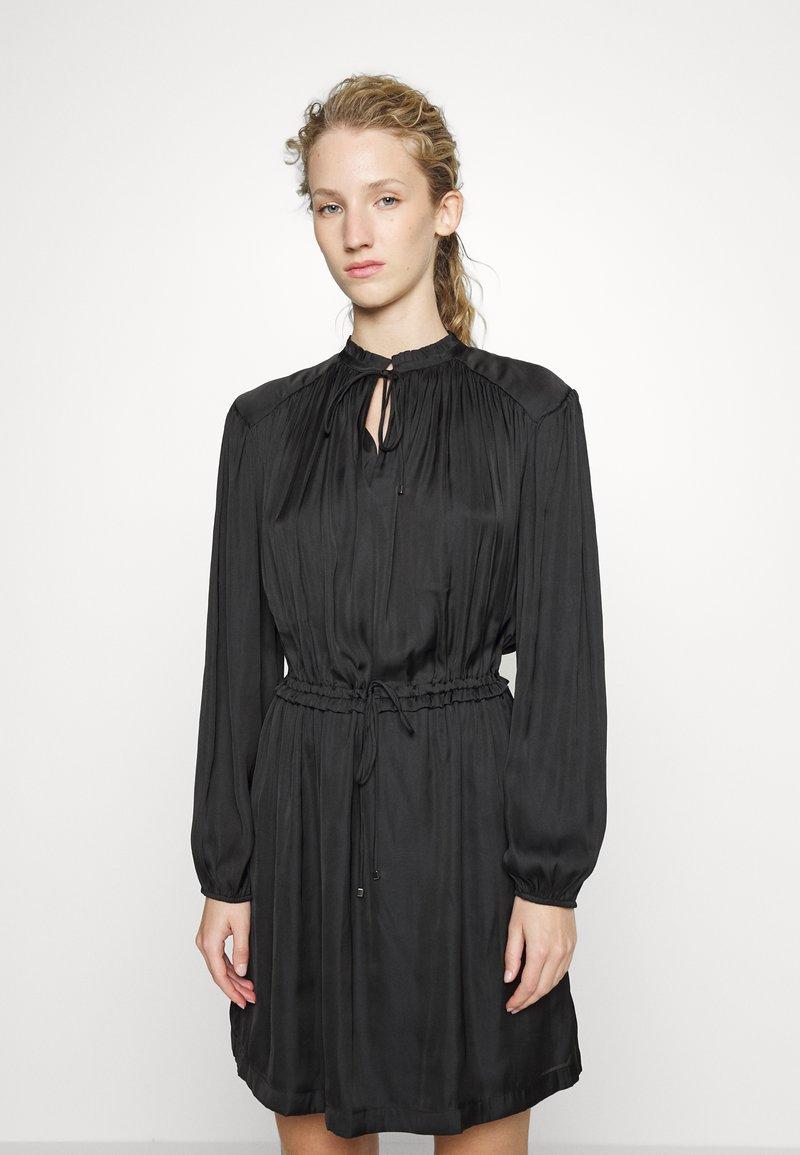Claudie Pierlot - RUFFLE - Day dress - noir