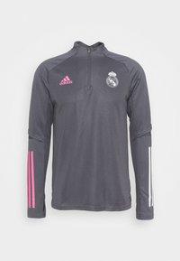 adidas Performance - REAL MADRID AEROREADY FOOTBALL - Klubtrøjer - grey five - 4