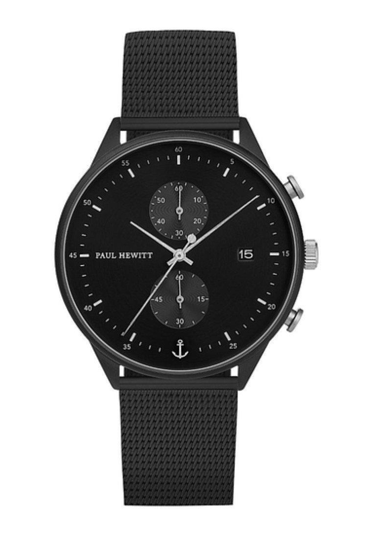 Paul Hewitt - CHRONO LINE  - Chronograph watch - black