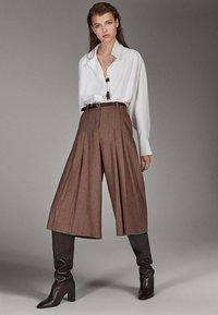 Massimo Dutti - Pantalon classique - brown - 1