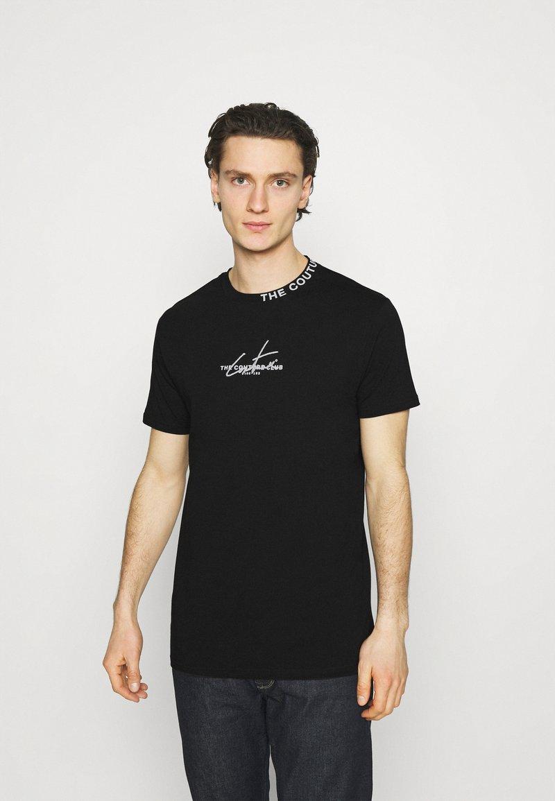 The Couture Club - SIGNATURE LOGO - Print T-shirt - black