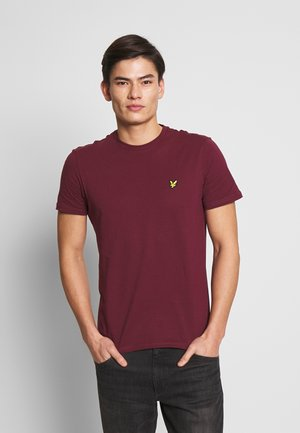 PLAIN - T-shirt basic - merlot