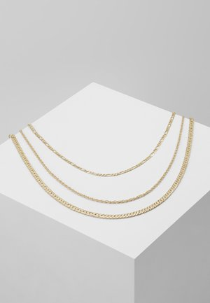 QOLIA 3 PACK - Necklace - gold-coloured