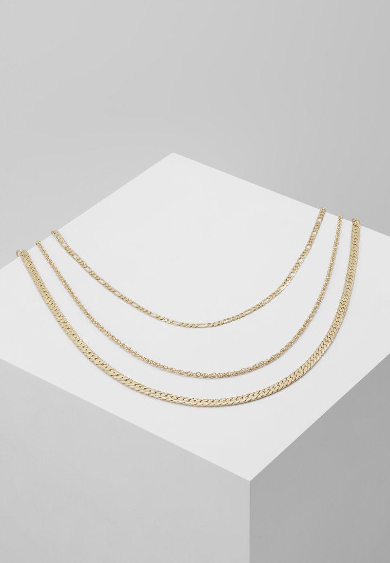 ALDO - QOLIA 3 PACK - Necklace - gold-coloured