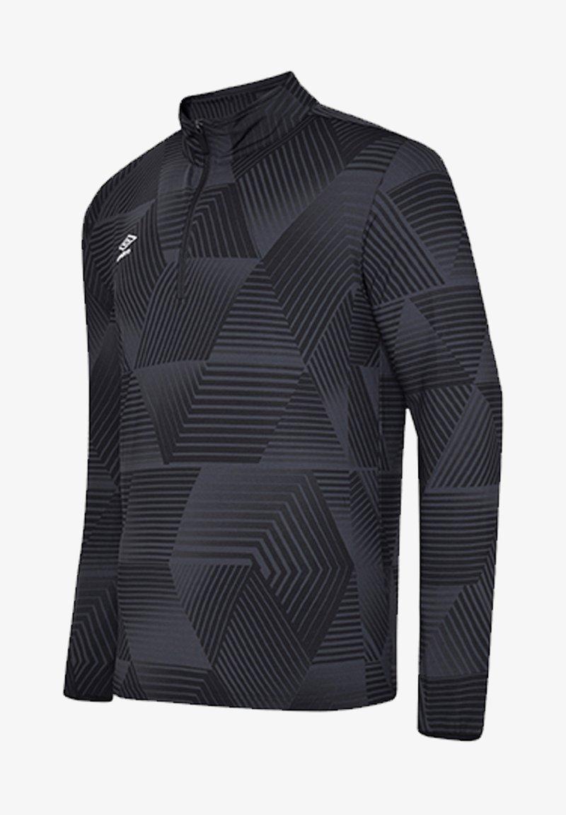 Umbro - Long sleeved top - schwarz