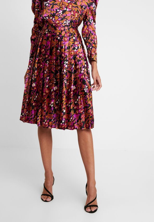 MACERA - A-line skirt - multicolor