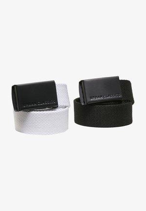 2 PACK - Cintura - black white