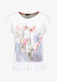 Taifun - Print T-shirt - offwhite gemustert - 3