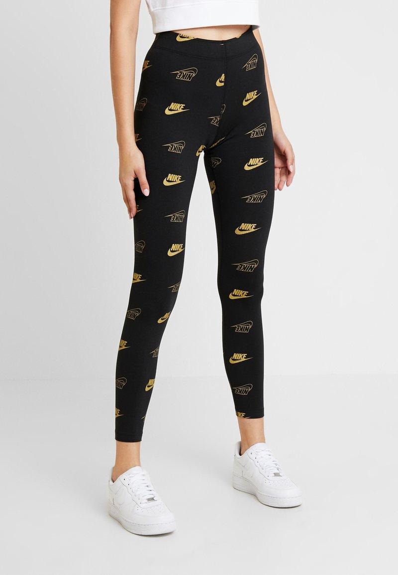Nike Sportswear - SHINE - Leggings - black