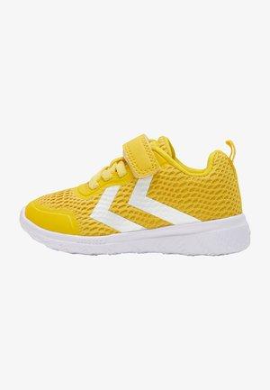 ACTUS RECYCLED INFANT - Sportschoenen - yellow
