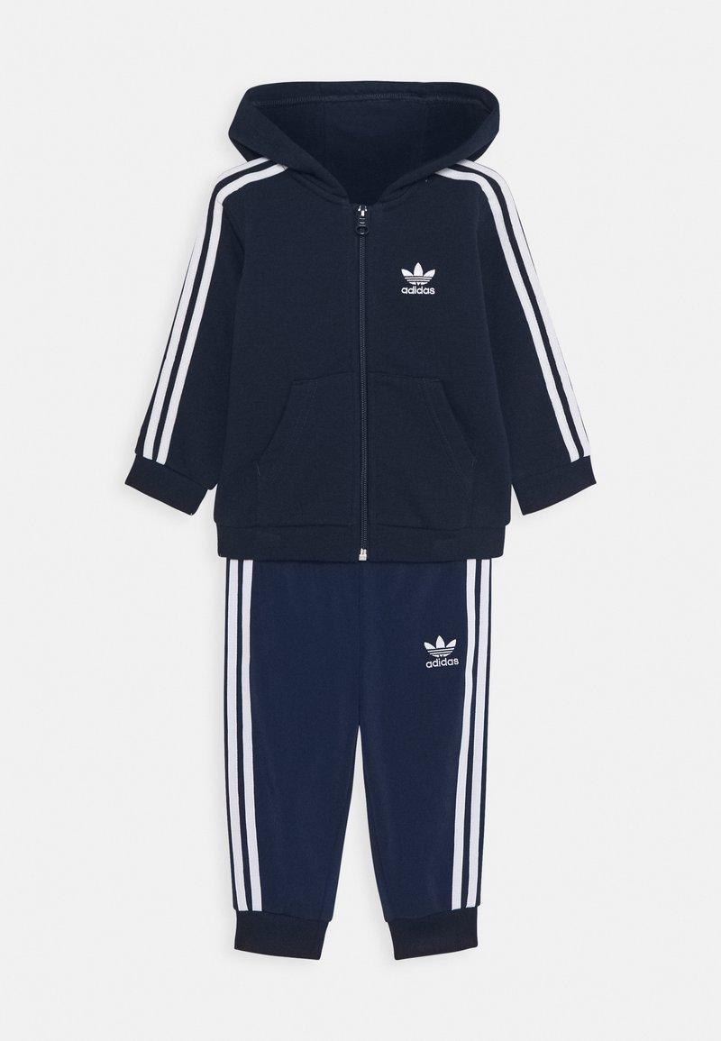 adidas Originals - HOODIE SET - Mikina na zip - conavy/white