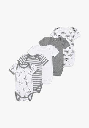 NBNBODY BEAR 5 PACK - Body - grey melange