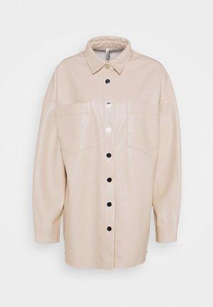 SHACKET - Short coat - beige