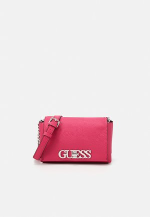 UPTOWN CHIC MINI XBODY FLAP - Across body bag - fuchsia