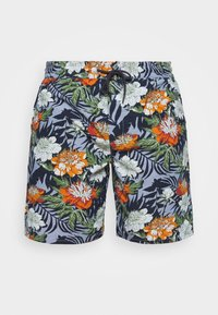 Jack´s Sportswear - FLORAL CHAMBRAY  - Short - blau - 4