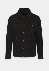 Denim Project - KASH DESTROY JACKET - Denim jacket - black - 4