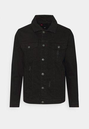 KASH DESTROY JACKET - Denim jacket - black
