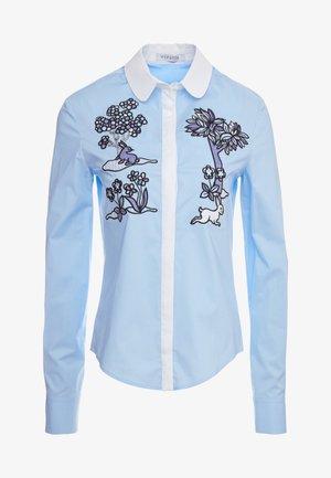 CAMICIA - Button-down blouse - celeste