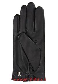 Otto Kessler - BELLA - Gloves - black/crimson - 2
