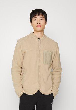 HAYES ZIP - Fleece jacket - beige