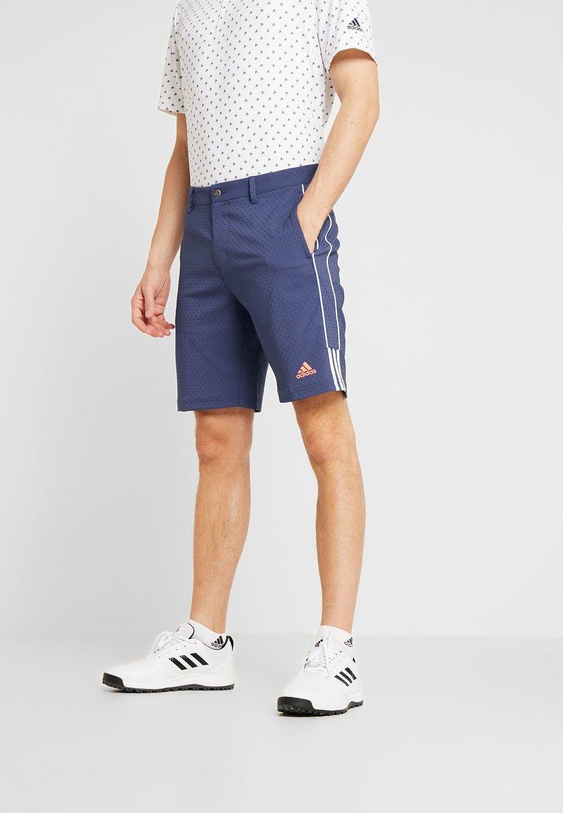 adidas Golf - COLLECTION DOBBY - Sportovní kraťasy - tech indigo