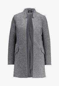 ONLY - ONLLINDA COATIGAN - Kort kåpe / frakk - medium grey melange - 4