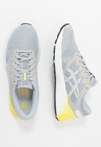 ASICS - ROADHAWK FF 2 - Obuwie do biegania treningowe - mid grey/white - 1