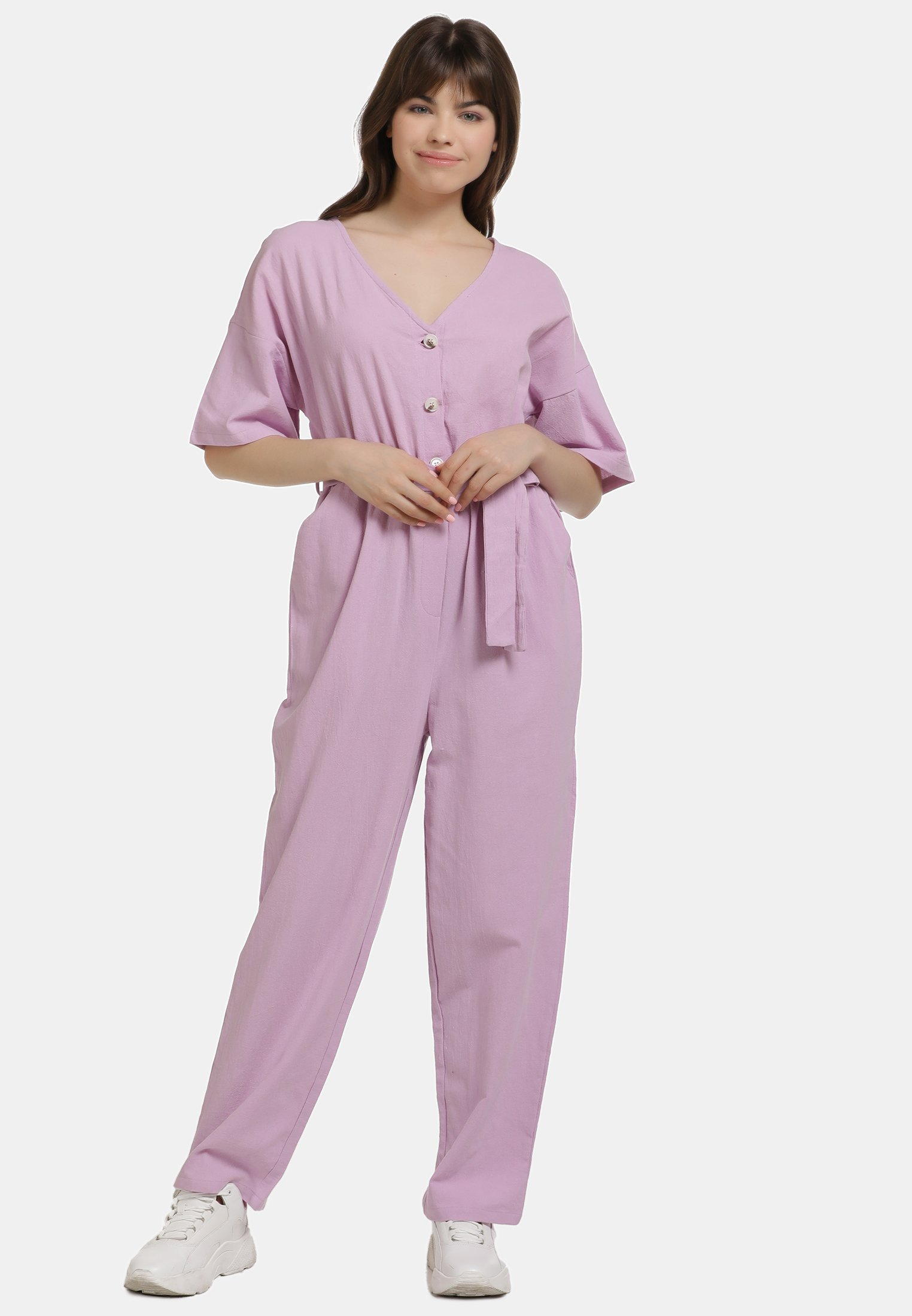 New Women's Clothing myMo JUMPER Jumpsuit lilac eoplxqk3i