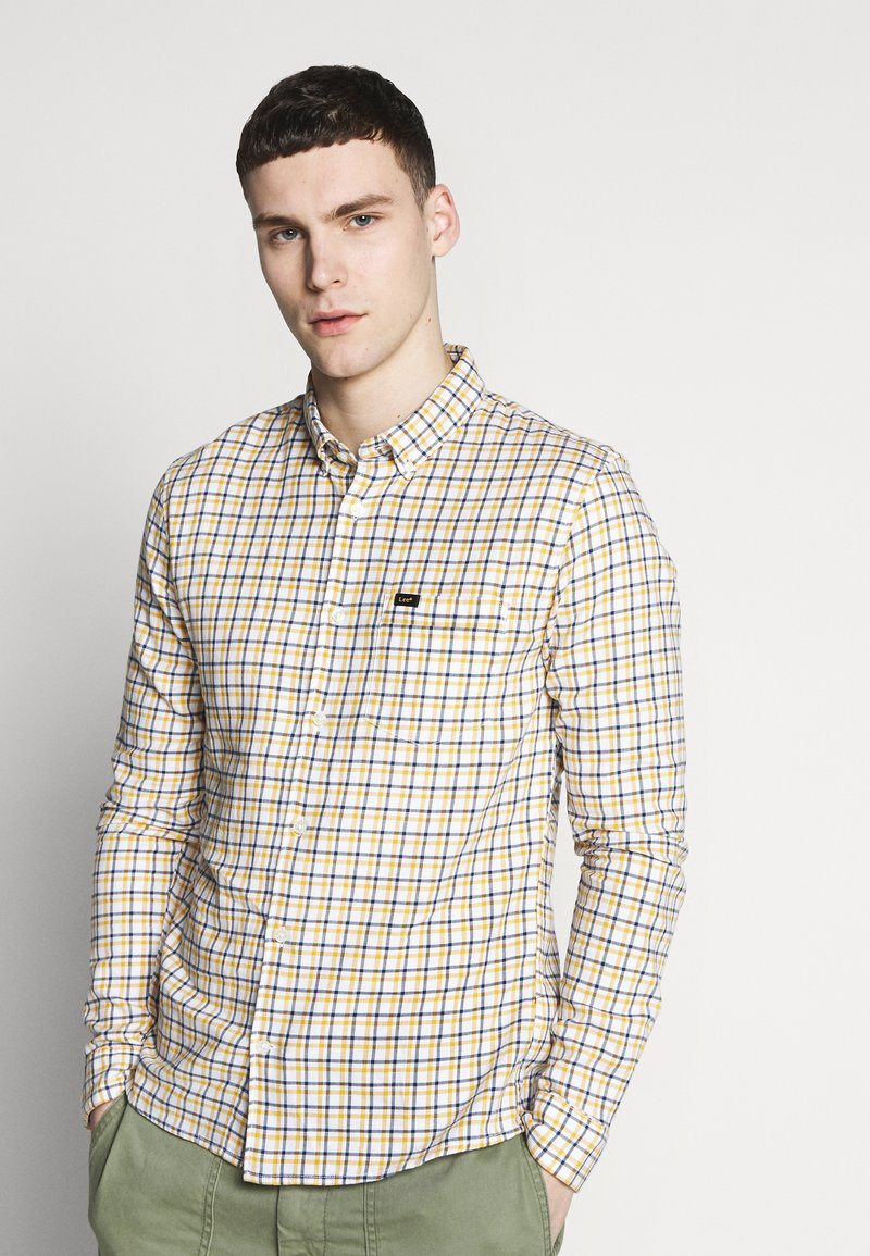Lee - SLIM FIT - Camicia - golden yellow