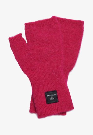 Fingerless gloves - fenway pink