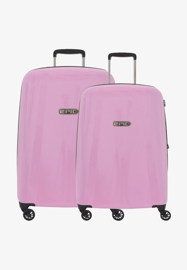 Luggage set - glosspink