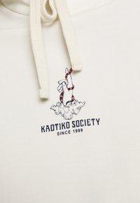 Kaotiko - HAND SNAKE  - Sweatshirt - ivory - 5